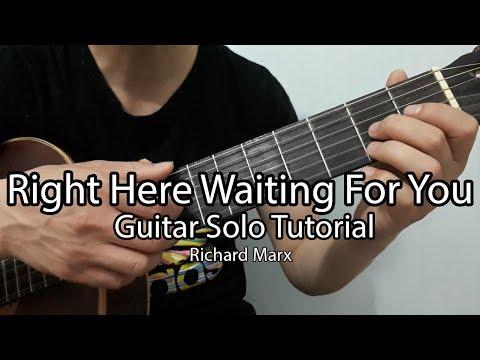 Hướng dẫn: Right Here Waiting For You | Guitar Solo Tutorial| Richard Marx | Full Tab - Thời lượng: 14:27.