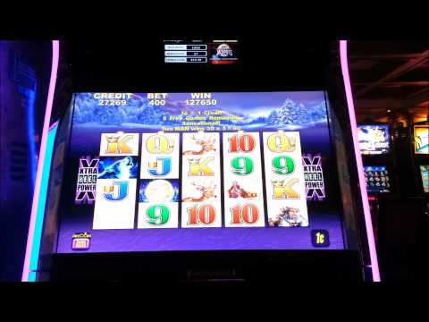 Timber Wolf –  Casino Slot Machine – HUGE WIN