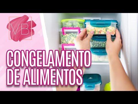 Nutricionista - Congelamento de alimentos - Você Bonita (21/10/19)