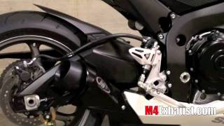 6. 2011 GSXR 600 with M4 Exhaust Black GP style Slip On