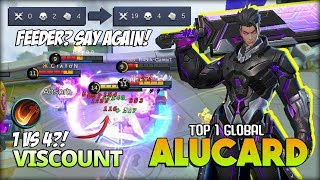 Alucard with Execute?! No Boots for Late Game! VISCOUNT Top 1 Global Alucard ~ Mobile Legends