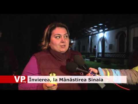 Învierea, la Mânăstirea Sinaia