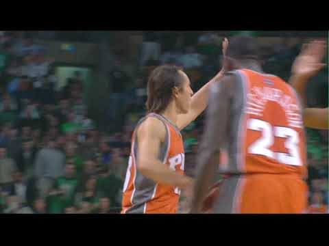 Steve Nash's 3-Pointer vs. Celtics