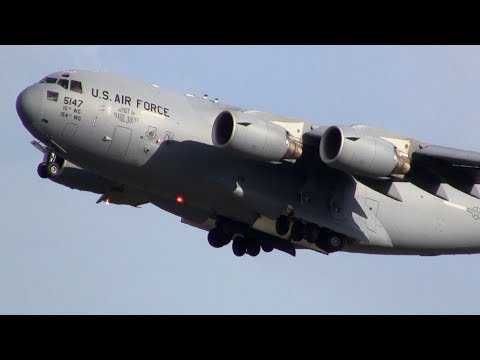 First time for me to see a C-17...