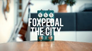 """My demo of the Foxpedal The City!*this is a sponsored video*https://foxpedal.com/""""New in Version 2: The City V2 features an updated boost section (now using the powerful Ebenezer boost) and a much smaller form-factor, top-mount jacks and soft-touch relay switching.The classic screamer brought to life in a flexible and dynamic package. The City is the dreamer's screamer. With so much control over the shape of your tone, you'll grow to love the classic drive circuit like it's the late 70's all over again. Without the bell-bottoms.Full control over your drive: Level: You know… how loud the thing is.Body: Adjust the amount of bass content to your signal to give you some meat when you want to get down. Use in conjunction with the presence switch to bring it all to life.Tone: The class TS tone controlDrive: All the way from low transparent sizzle to tube-cracklin crunch. More toneshifting switching: Two clipping options, Red LED or for loud, aggressive nastiness or MOSFET for lovely textured smoothnessPresence control adds some treble clipping to liven up single note playingFlat switch to lessen the mid focusIndependent boostWith the additional independent MOSFET clean boost (Same as our Ebenezer) the City is a player's drive, giving you the flexibility to push the gain for solos or when you want some more dirt in your teeth.""""Guitar: Fano PX6Amp: Tone King 20th Anniversary ImperialCables: Toaster Cables - http://www.toastercables.com/Patch cables: Mulder Audio - http://www.mulderaudio.com/Contact: livingroomgear@gmail.comhttps://www.patreon.com/livingroomgeardemoshttps://www.facebook.com/livingroomgearhttps://twitter.com/livingroomgearhttp://instagram.com/livingroomgeardemoshttp://ask.fm/livingroomgearhttp://livingroomgeardemos.tumblr.com"""