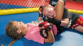 Cage-fighting Kids: Children As Young As Four Train In MMA