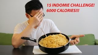 "Video [MUKBANG] 15 INDOMIE CHALLENGE (INDONESIAN INSTANT NOODLE) | ""6000 CALORIES"" 