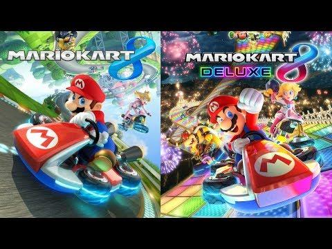 Mario Kart 8 Wii U, Then Deluxe @ 1:30PM EST!