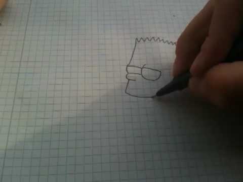 Bart Simpson zeichnen lernen – Simpsons malen