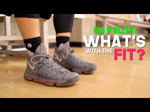 "Nike Kd 9 Elite Review | Fit Too ""specific""?"