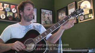 Left Hand Muting - G Chord Technique - Beginner Guitar