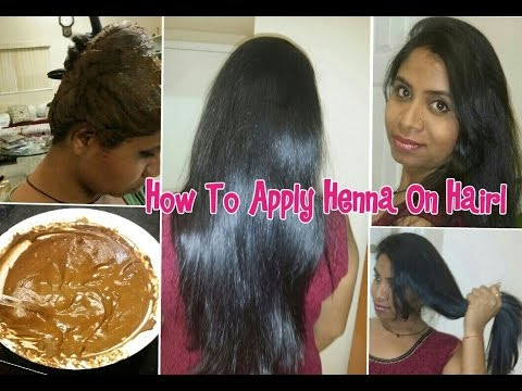How To Apply Henna On Hair Henna