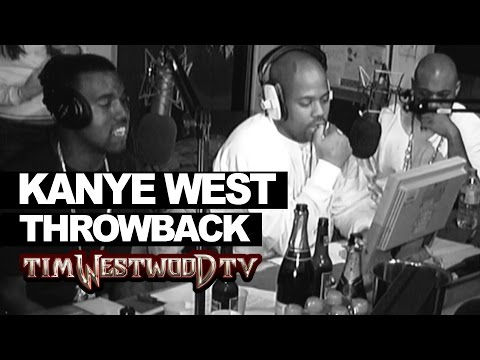 WATCH: Unreleased Kanye West Freestyle From 2004