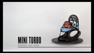 K2 Mini Turbo Snowboard Bindings 2014