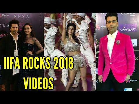IIFA Rocks 2018 Inside Videos Of Varun Dhawan, Shr