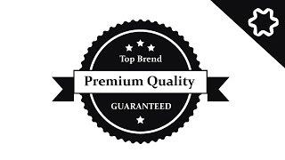 Design A Premium Quality Logo In Adobe illustrator - Tutorial How to Make Label Logo Design my youtube channel : https://www.youtube.com/channel/UCnfmky_XJXq...