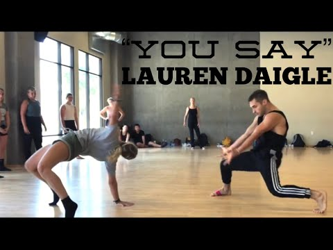 Video You Say Lauren Daigle Choreography by Derek Mitchell at Edge Pac in LA download in MP3, 3GP, MP4, WEBM, AVI, FLV January 2017