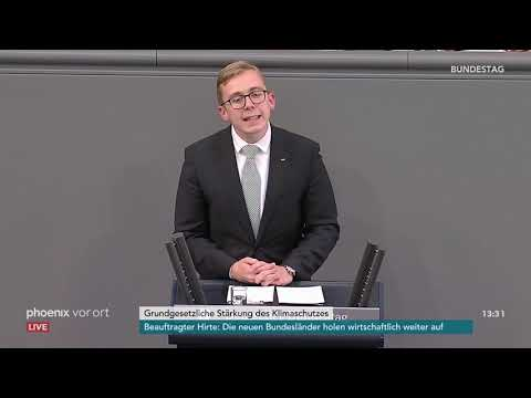 Bundestagsdebatte zur verfassungsrechtlichen Stärku ...