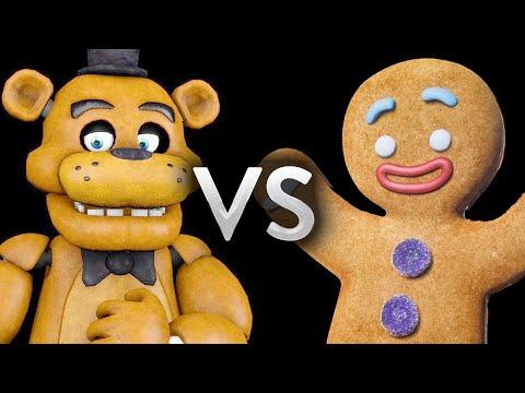 FNAF Vs Gingerbread Man - Epic Battle - Left 4 dead 2 Gameplay (Left 4 dead 2 Custom Skin mods)