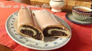Gâteau roulé aux graines de pavot