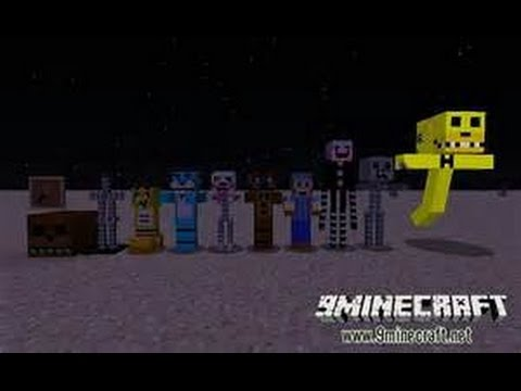 five nights at freddys Texture pack review minecraft