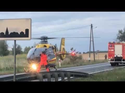 Wideo: Śmigłowiec LPR ląduje pod Miłosną