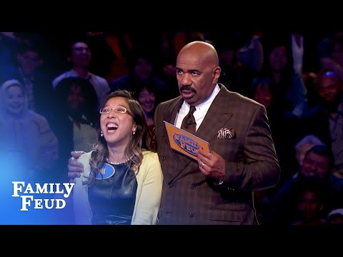 Kim attempts a HUGE comeback! | Family Feud