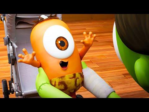 Baby Kebi | NEW Season 4! | Spookiz | Cartoons for Kids