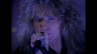 Whitesnake vidéo de musique Fool For Your Loving