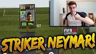 STRIKER NEYMAR!!! THE BEST INFORM STRIKER IN FIFA HISTORY?!? Retro Fifa 12 Inform Striker Neymar, neymar, neymar Barcelona,  Barcelona, chung ket cup c1, Barcelona juventus
