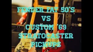 Video Fender Custom Shop Fat 50's vs Custom '69 Pickups MP3, 3GP, MP4, WEBM, AVI, FLV Juni 2018