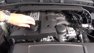 Hi, this video shows you how to check the oil level in a BMW with no dipstick. Then how to top up when the oil level is too low and then rechecking to make sure the correct amount of oil is in the car. The car in the video is a 2013 BMW 318i E92.Many thanks Vince