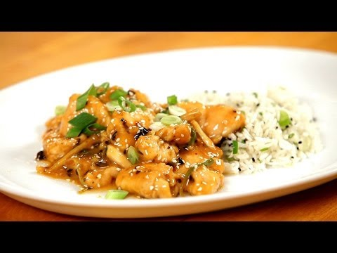 How to Make Healthy Sesame Chicken   Asian Cooking