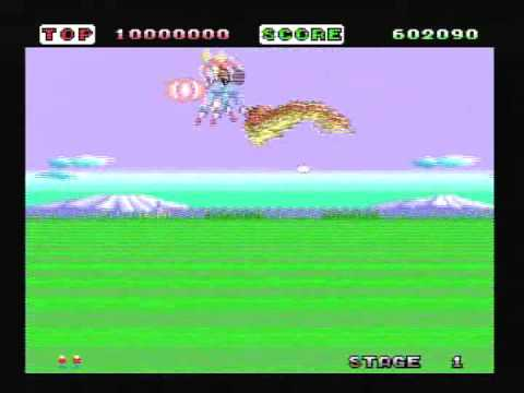 Space Harrier PC Engine