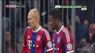 David Alabas Traumtor gegen Braunschweig