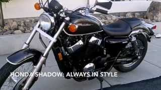 5. 2010 HONDA SHADOW RS 750