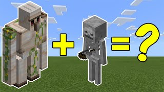 Video I Combined an Iron Golem and a Skeleton in Minecraft - Here's What Happened... MP3, 3GP, MP4, WEBM, AVI, FLV Mei 2019