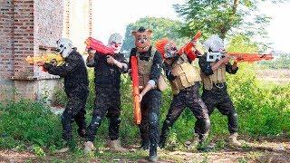 Video MASK Nerf War : Police Warrior Alpha Nerf Guns Fight Criminal Group Mask The Battle Is Not Balanced MP3, 3GP, MP4, WEBM, AVI, FLV September 2019