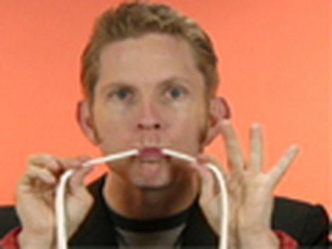 Stupid Magic Tricks – The Dental Floss Trick
