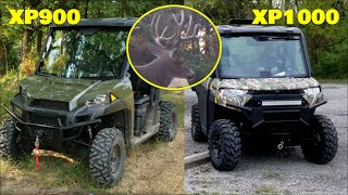 8. 2019 Polaris XP900 vs. XP1000 Northstar first comparison, property tour, food plots, trail cams
