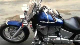 9. 2004 Honda Shadow Spirit 1100 No Pork Motorsports