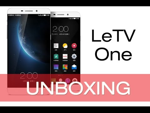 LeTV One 4G LTE 3GB RAM X600 Unboxing (Retail Version)