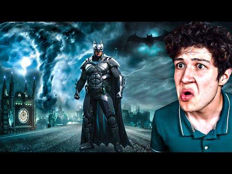 SOBREVIVIENDO a un TORNADO como BATMAN! (Mods)