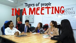 Video Types of People In A Meeting MP3, 3GP, MP4, WEBM, AVI, FLV April 2019