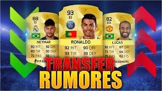 FIFA 16 TRANSFERS RUMORES | RONALDO, NEYMAR, LUCAS & MÁS | ULTIMATE TEAM 16, neymar, neymar Barcelona,  Barcelona, chung ket cup c1, Barcelona juventus