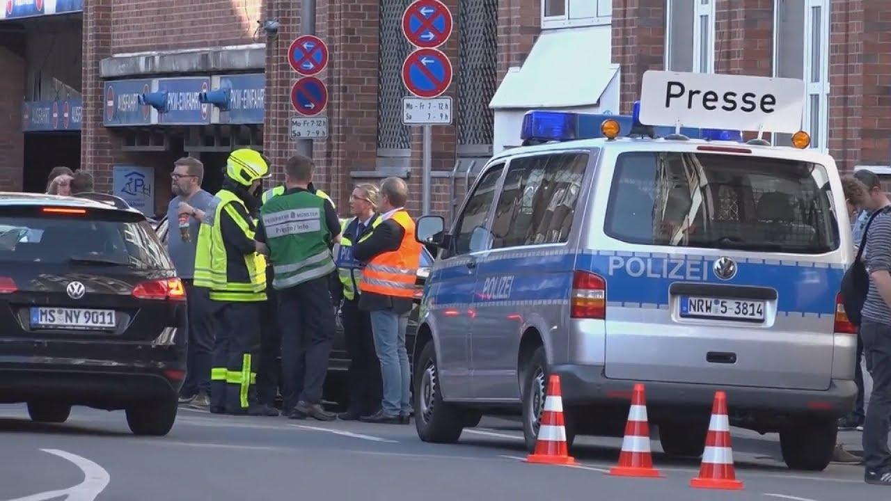 Αυτοκίνητο έπεσε σε πλήθος στην Γερμανία