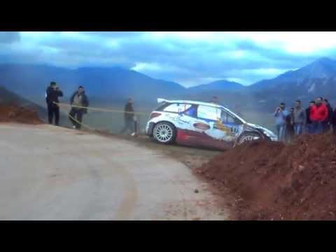 Acropolis Rally 2014 - Bouffier fail