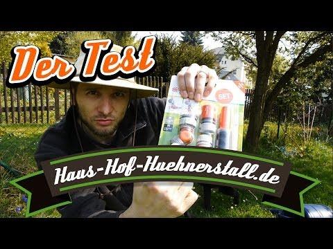 GARDENA Schlauch & Winkelhahnstück - Der Test