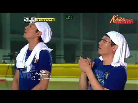 { Part 1 } Kim Jong Kook và những lần thể hiện sức mạnh và sự can đảm của mình - Thời lượng: 10:45.