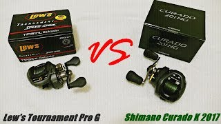 Video Shimano Curado K vs. Lew's Tournament Pro G: My Honest Review MP3, 3GP, MP4, WEBM, AVI, FLV Februari 2019